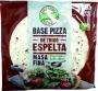 BASE PIZZA ESPELTA MASA FINA 3 UNIDADES - 390GR.